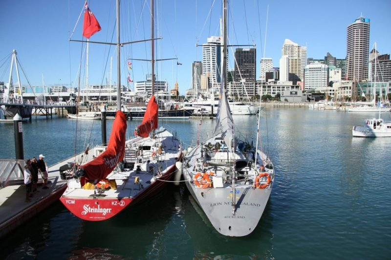 America's Cup Spectator Experience 2021 Vessels of Significance