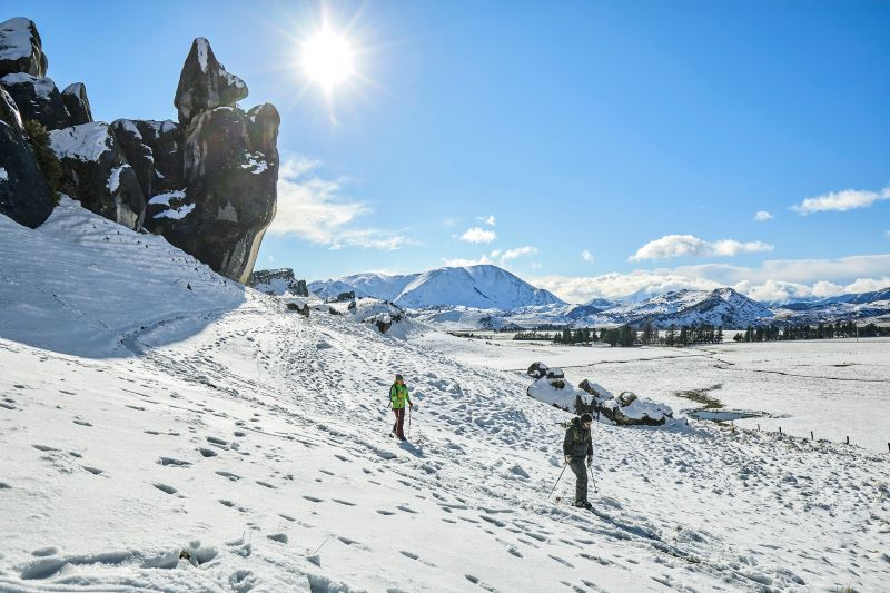 Christchurch to Arthu'rs Pass Castle Hill Ski Fields Photo by Matt Crawford