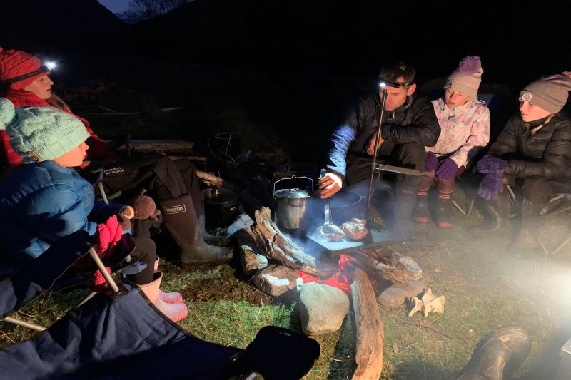 Pyke Hollyford Expedition Hearty Evening Meals