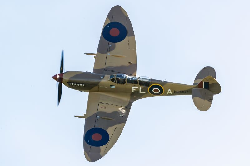Fly High, Soar Far, Dine Well The Almighty Spitfire