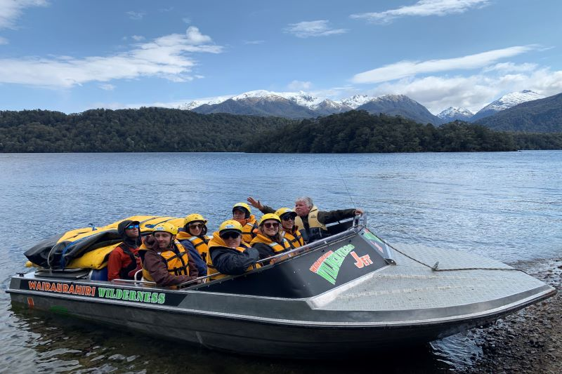 Wairaurahiri Expedition Making Your Way By Jet Boat