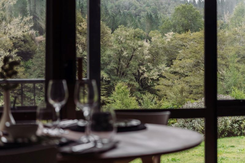 Christchurch to Maruia Forest View Dining