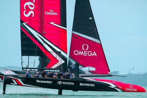 America's Cup Spectator Experience 2021 Stunning Technology